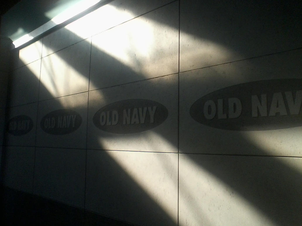 Old Navy Wall by SJRT