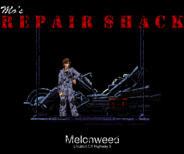 LucasArts' Full Throttle: Mo's Repair Shack by SJRT