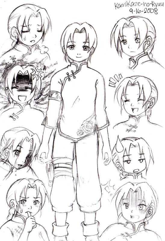 Another Naruto OC: Makoto by KamiKaze-no-Ryuu