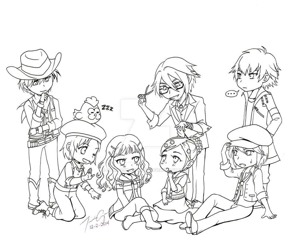 RL Commission 18: Harvest Moon by KamiKaze-no-Ryuu
