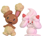 Buneary and Alcremie 2