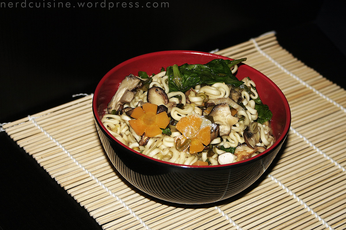 Ramen with Miso and Shiitake by oskila on DeviantArt