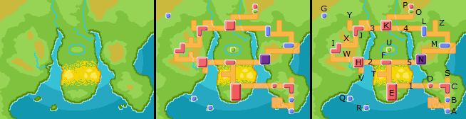 Pokemon Black 2 Unova Map