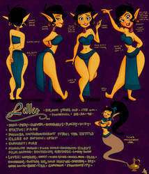 Lillit the Genie by PhenomnalCosmkPowers