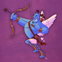 Cupid Genie by PhenomnalCosmkPowers