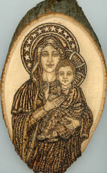 Madonna and Child by Hope-Star