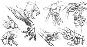 Burne Hogarth Hands1