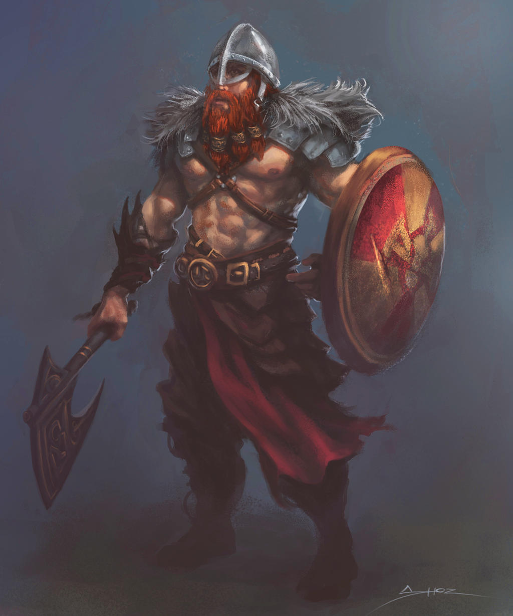 The Viking by ShoZ-Art on DeviantArt