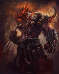 Orc Chieftain by ShoZ-Art