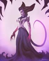 Demon Girl by ShoZ-Art
