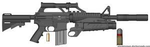50 Caliber Assault Rifle