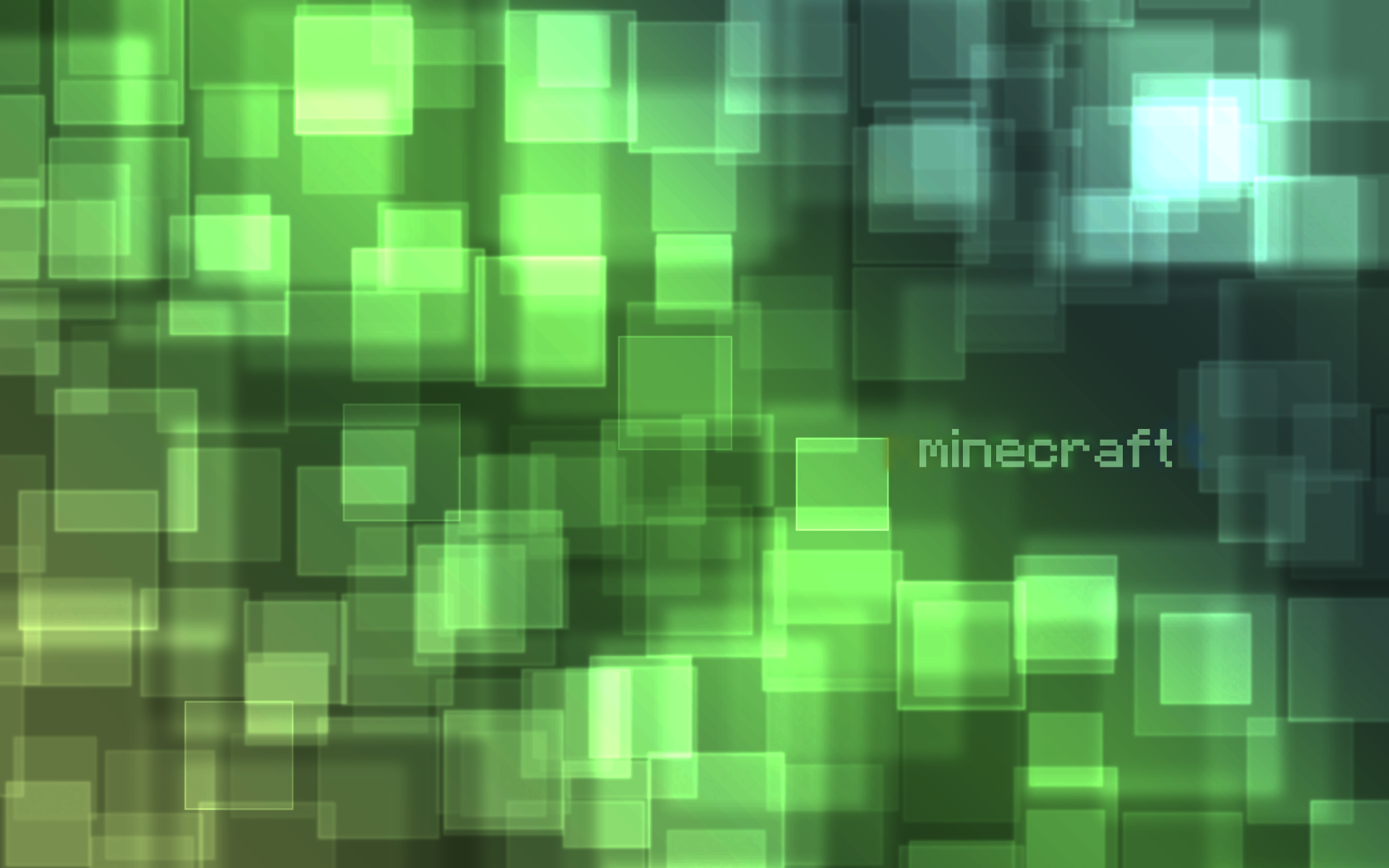 Minecraft abstract wallpaper by