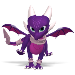 Reignited Cynder: Spyro 3 Art