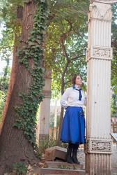 Elizabeth Bioshock Cosplay 2016-Column by anatlus89