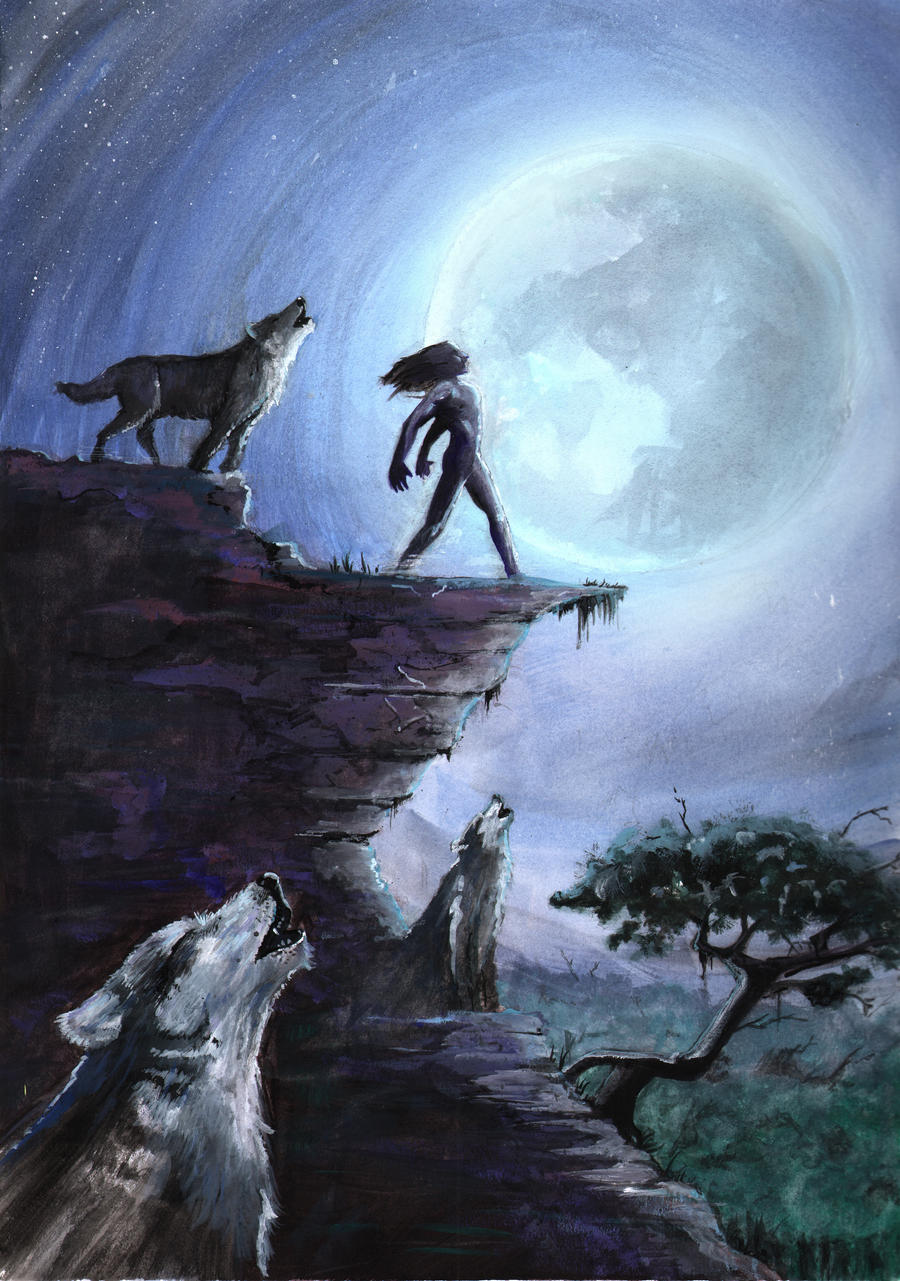 Jungle Book Cover Art : Jungle book cover by tylerchampion on deviantart