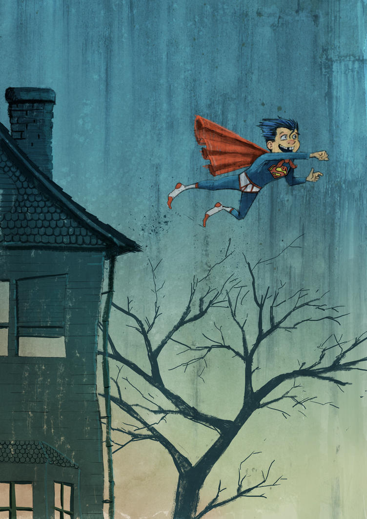 Kid Superman by TylerChampion