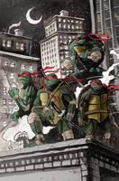 Ninja Turtles by TylerChampion