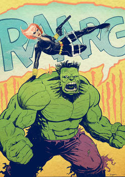 Hulk/Black Widow