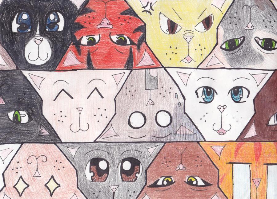 dog tessellation art - photo #23
