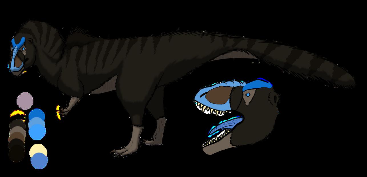 Tyrannosaurus Rex by Corvusaurus