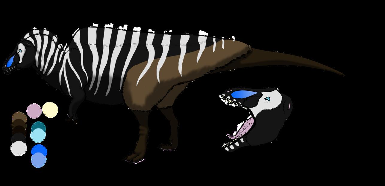 Acrocanthosaurus by Corvusaurus
