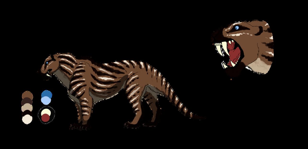 Gorgonopsid by Corvusaurus