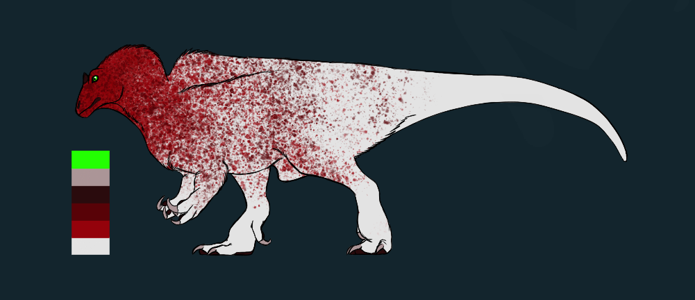 Adoptable Acrocanthosaurus [Open] by Corvusaurus