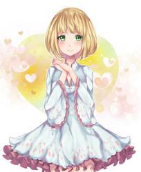 wait why does she look like kirigakure mikuri by NekoPurrincess