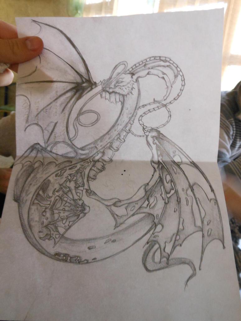 dragon ))) by Rakuti
