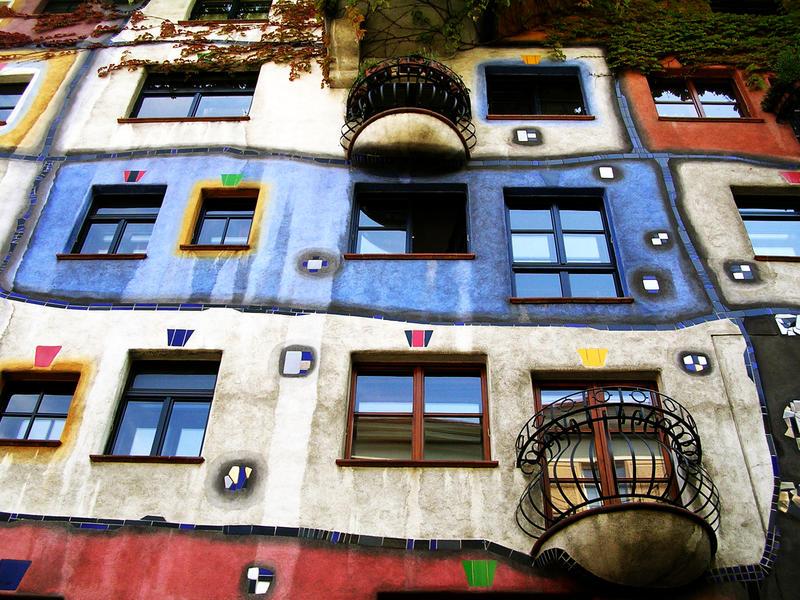 Hundertwasser House by stregatta75