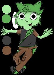 Luke The Plant-Human by CrazyCatDex