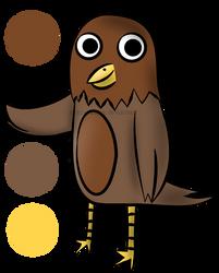 Waffle The Bird by CrazyCatDex