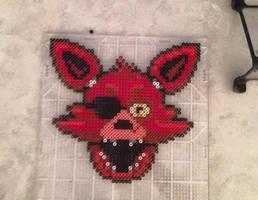 Foxy Perler by amiamy111