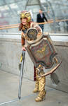 Valkyrie Leona Cosplay: Ready to fight