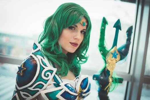 Battle Sailor Neptune Cosplay: A thousand seas