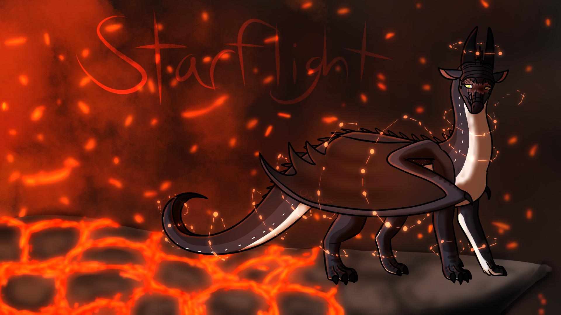 Starflight Wallpaper Wings Of Fire By Owibyx On Deviantart