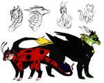 Miraculous Dragon Forms 2.0 | Miraculous Ladybug