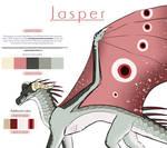 Reference Sheet | Jasper | Wings of Fire OC