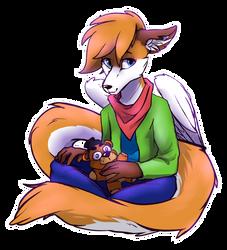 Sweet fox boi - AT