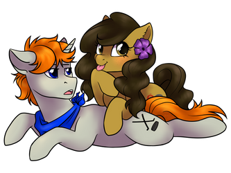 Commission Rush - Avi and Disty by Nenefi