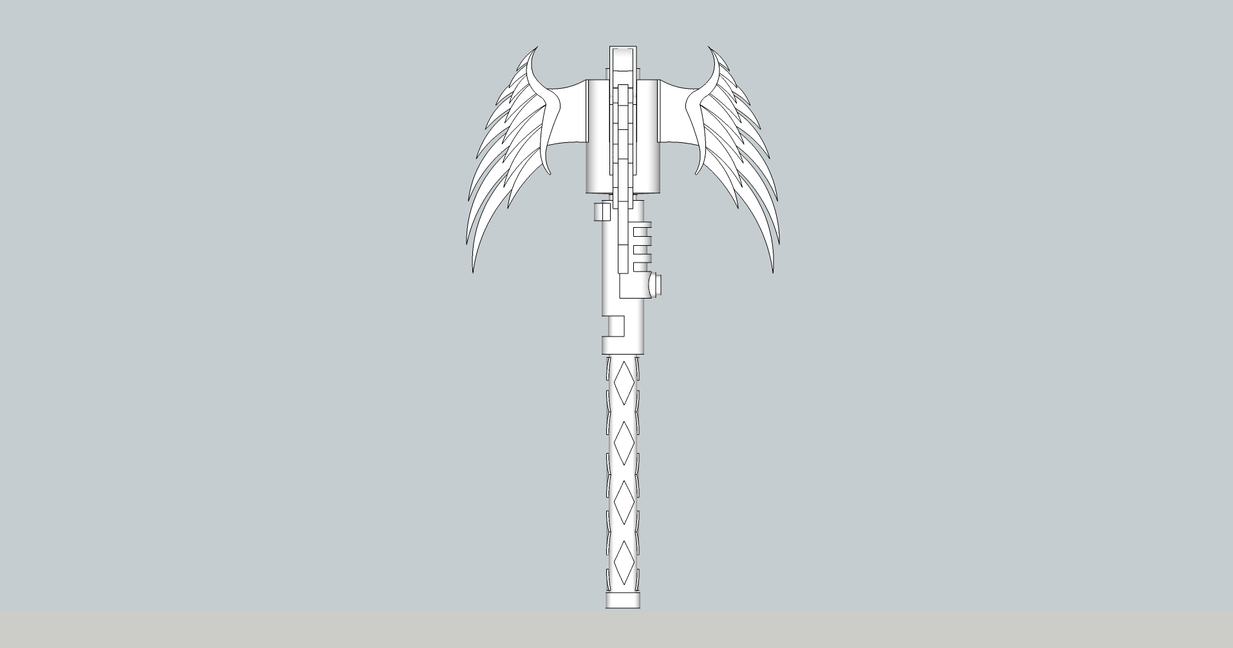 Winged Mace 2 by S3dition
