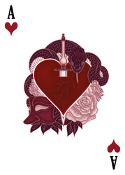Ace of Hearts - The Count of Monte Cristo by karinyan