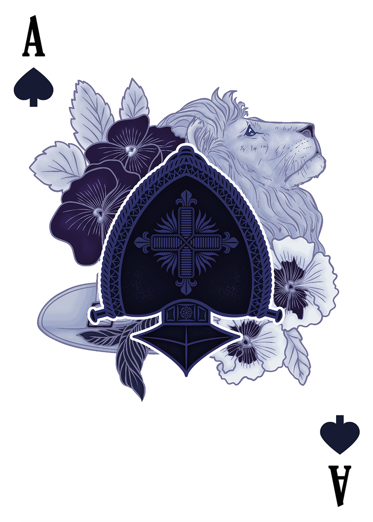 Ace Of Spades The Three Musketeers By Karinyan On Deviantart