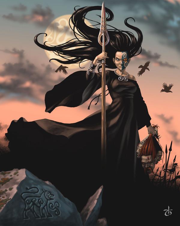 Morrigain by LeValeur