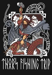 Thor's fishing trip by LeValeur