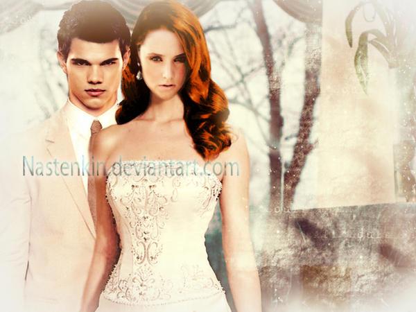 Wedding Dresses From Landybridal MÉlÒdÝ JacÒb: Renesmee And Jacob Wedding By Nastenkin On DeviantArt