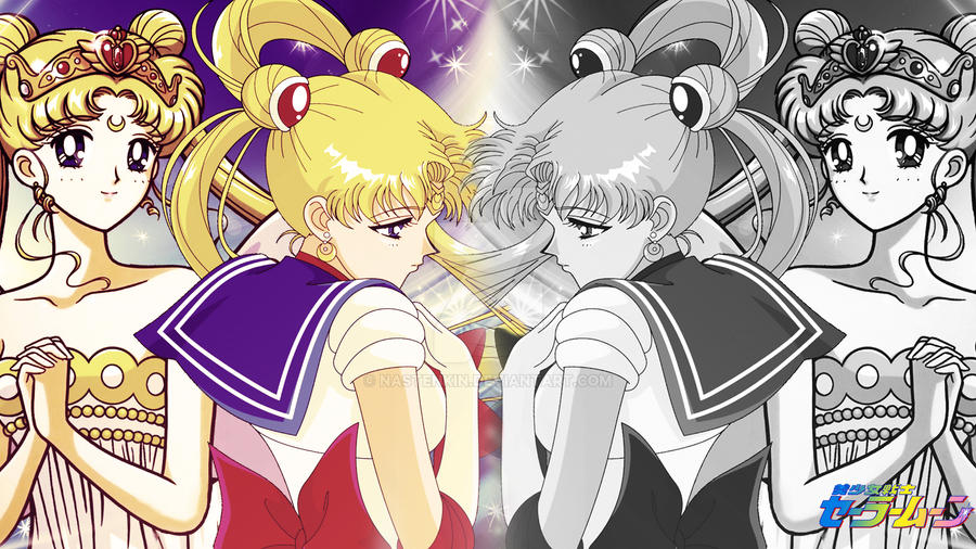 Sailor Moon by Nastenkin