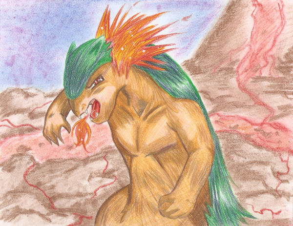 Typhlosion by Pai-San