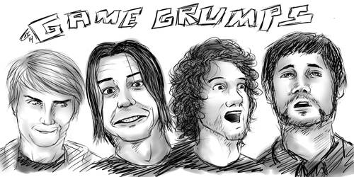 Game Grumps Portraits by catc0617