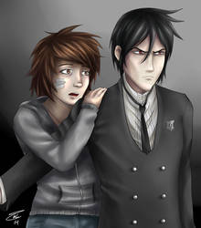 Commission: Zara and Sebastian